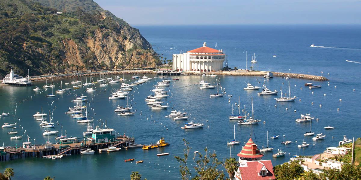Avalon Bay in Catalina